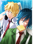 Bakuman - Ashirogi muto Collab by NickLeon5
