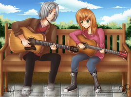 Collab: 5912 - Guitar Tutoring by Jibari-chan