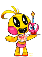 Toy chica by Mentita-Kirby