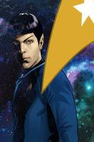 Star Trek - Countdown to Darkness vol.3 cover art by Claudia-SG