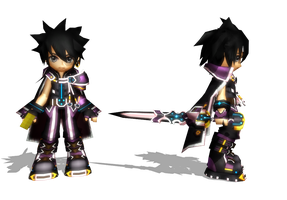 MMD Grand Chase Model Rip 40: Aerknard Sieghart by Kritobias