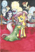 Fluttershy on the Red Carpet by Himawari-chan