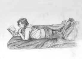 on the bed by Sir-Unforgiven
