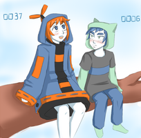 0037 and 0006 by Moferiah