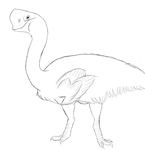 Oviraptor by YellowDelilah1993