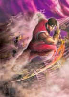 Guy Artwork in Street Fighter x Tekken by GuyBushin