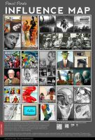 My Influence Map by Pencil Pixels by PencilComic