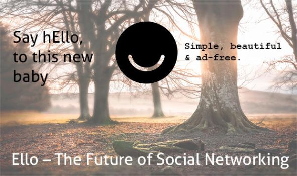 Ello - The Future of Social Networking by valleystudio