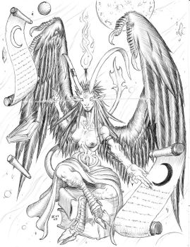 Baphomet by Level9Drow