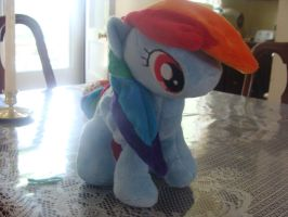 Rainbow Dash Plush by Revilynn
