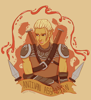 Antivan Assassin by RoochArffer