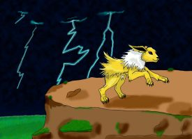 Jolteon by MegaJoy-Coon