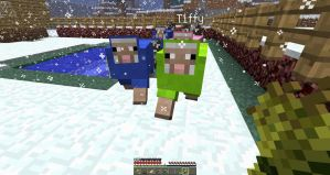 Mincraft animals by shevakitty