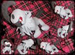 absol plush by PinkuArt