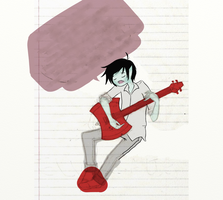 (WIP) Marshall Lee by Digital-ARTISTRY