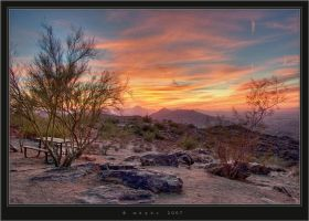 Southmountain Sunset by HogRider