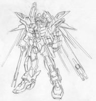 Destiny Gundam type b by MVRS
