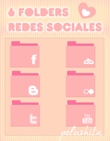 Folders, redes sociales. by PelushitaPetisuit