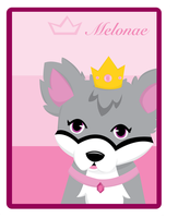 Melane card by WolfxPrince