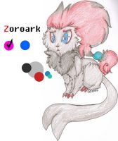 Zoroark .:Reference Sheet:. by wightravenexperiment