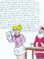 Attorney Angelica - Santa Claus by Jose-Ramiro