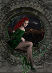 Poison ivy by Lesard