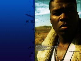 50 cent in blue by fakediamonds