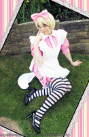 Alois In Wonderland- Join me for tea? by CauldronOfMischief
