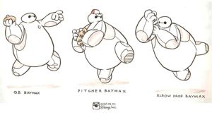 Sportsman Baymax by BongzBerry
