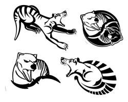 Thylacine Graphics by lettuce99
