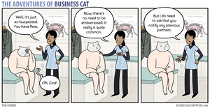 The Adventures of Business Cat - Consult by tomfonder