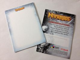 Witchblade Sketch Cards by shaotemp
