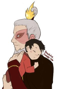 The Firelord and His Grandson by IDreamOfBlueSkies