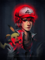Ash x Pikachu by Chemical-Exorcist