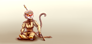 Sun Wukong by ThatPuggy