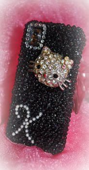 Initial Hello Kitty Phone Case by agscsecret