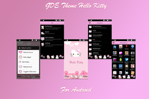 Hello Kitty Theme for GDE launcher android by LadyPinkilicious