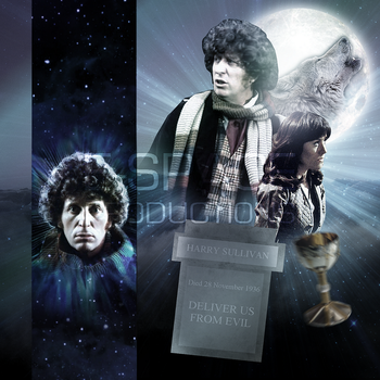 Doctor Who Wolfsbane Big Finish Cover Art Mock Up by E-SPACE-Productions
