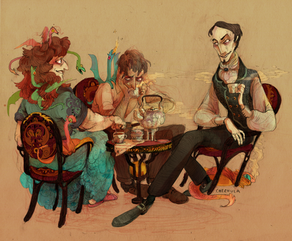 discworld tea by faQy