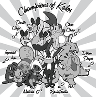 My Champions of Kalos by VolbeatFiro