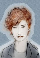 Lee Jong Suk sketch for debbie by DayDreamingLolly