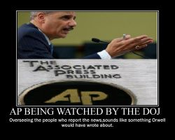 AP watched by DOJ, so much for the 1st amendment by IND-conservative