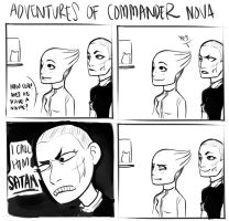 Adventures Of Commander Nova - Satan by erli
