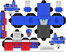 Cubee - Ultra Magnus by CyberDrone