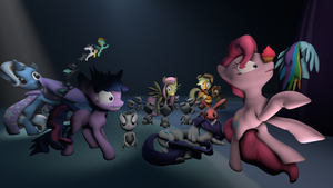 Skype ClusterBuck Mane Six Edition by VictriaOfArgus