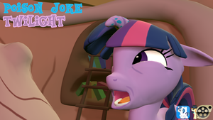 [DL] poison joke twilight sparkle by BeardedDoomGuy