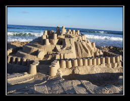 Castles Made of Sand by Prexian