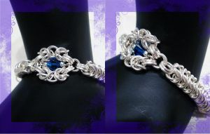 Dash of Byzantine ChainMaille by AngelElementsEtsy
