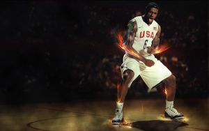 LeBron James by adomas