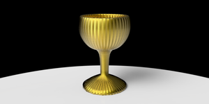 Gold Chalice1 by Tate27kh